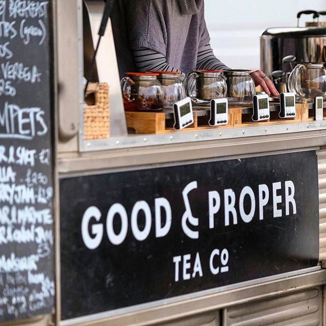 Good & Proper Tea at Brockley Market